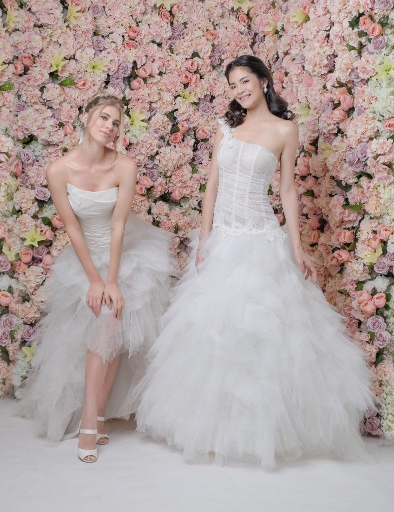 ALI ET DARLENE - Robe de mariée Pour Un Oui by Cymbeline