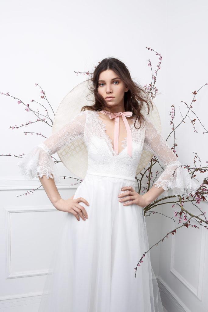GANGE - Robe de mariée bohème collection 2019 Pour un Oui by Cymbeline