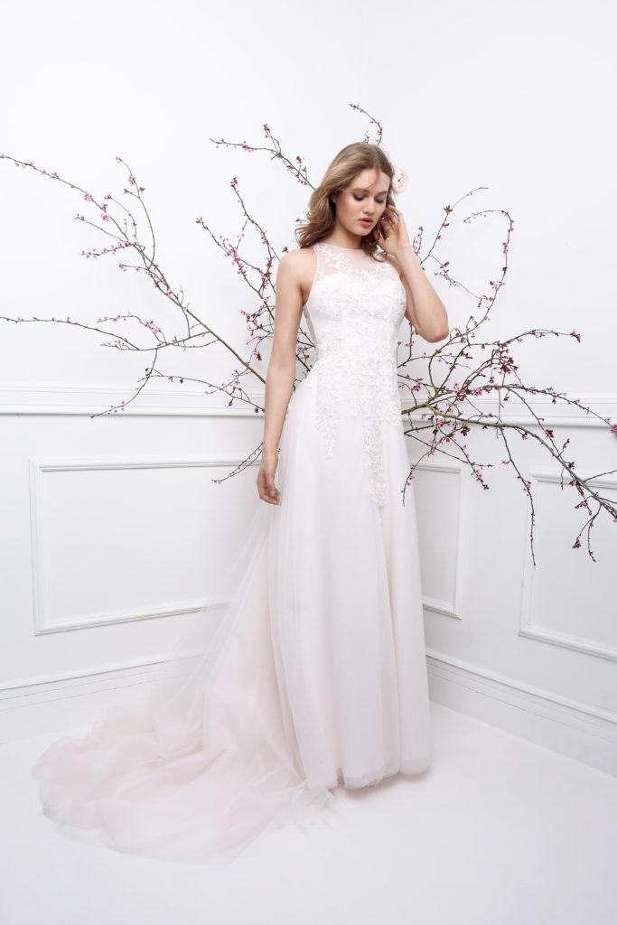 GILDA (face) - Robe de mariée fluide collection 2019 Pour un Oui by Cymbeline