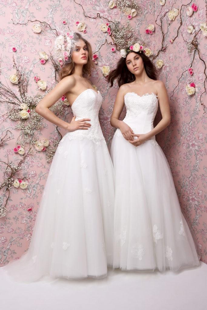 GINY-GIGI - Robe de mariée bustier dentelle collection 2019 Pour un Oui by Cymbeline