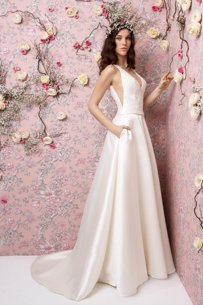GITA - Robe de mariée moderne collection 2019 Pour un Oui by Cymbeline
