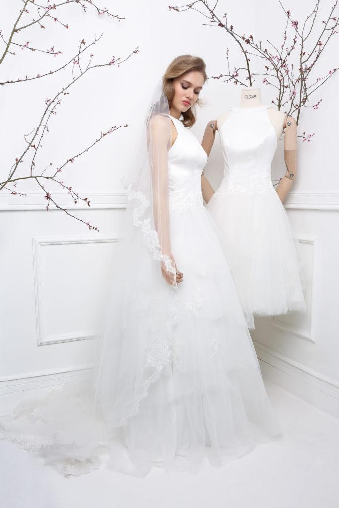 GLAMOUR-GLADYS - Robe de mariée courte collection 2019 Pour un Oui by Cymbeline