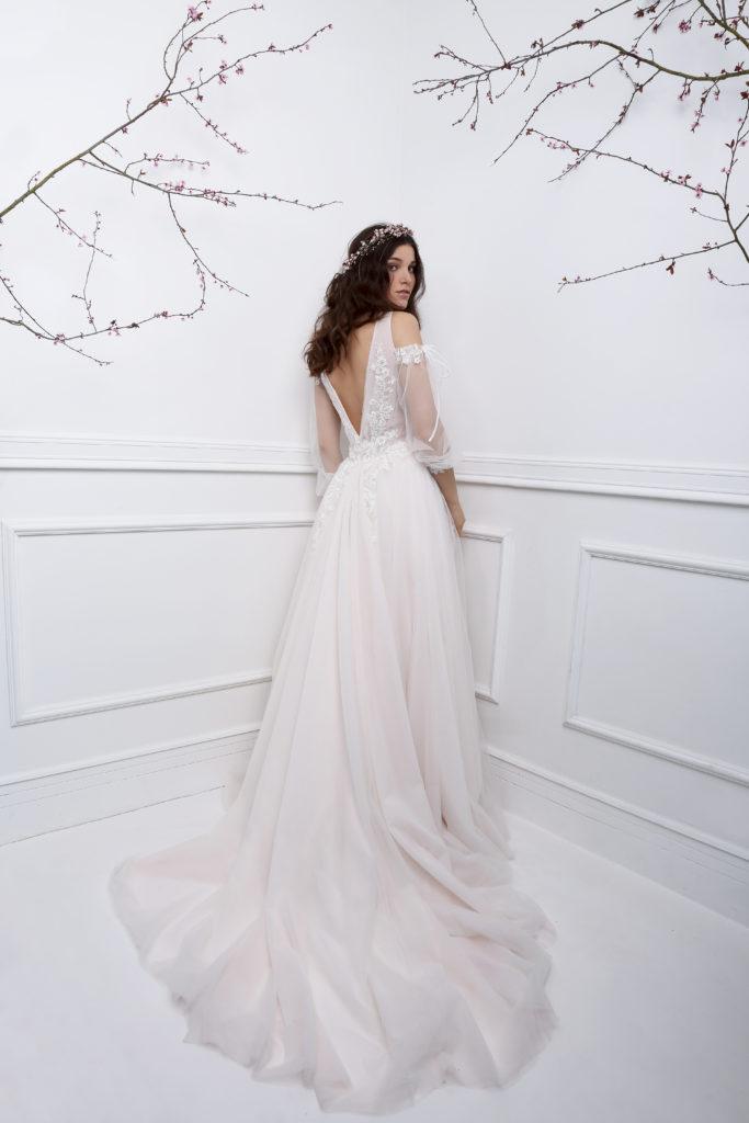 GYPSIE (portrait) - Robe de mariée bohème collection 2019 Pour un Oui by Cymbeline